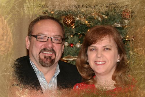 Steve and Annette Christmas card 2012